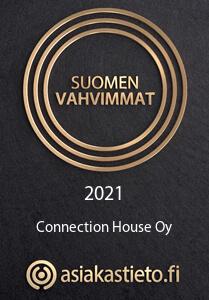 Suomen vahvimmat -sertifikaatti - Connection House 2021